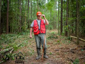 Face of Forestry project day 1 - eastern shore
